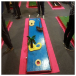 Crazy Mini Golf (Indoor or Outside)