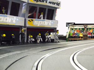 Scalextric Birthday Hire 2 hour (Ideal for Childs Birthday.)