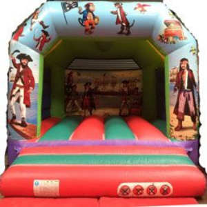 12' Pirate themed Basic Bouncer