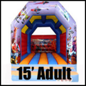 15' Bouncy Castle Adults or Kids Great for Teens