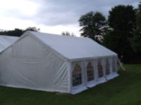 6 x 10 Wedding Marquee Basic with Softex Rubber Floor & Furniture
