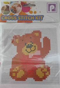 Cross Stitch  Bear