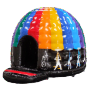 Disco Dome Hire incs Blue Tooth speaker connect music via your phone or a usb stick