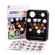 Face Paint Pallets Snazaroo (Do it Yourself packs)