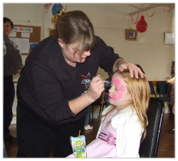 Face Painters (2 Hour birthday party)