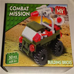 M.Y. Combat Mission brick toy 3 designs available