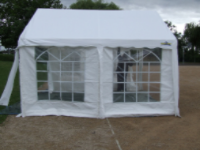 Marquee Deposit on small tents upto 4m wide