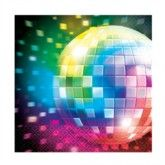 Napkin Disco;-  Teenager & Adult party pk 16