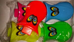 Party Bag Filler Duck bill whistles  pk5